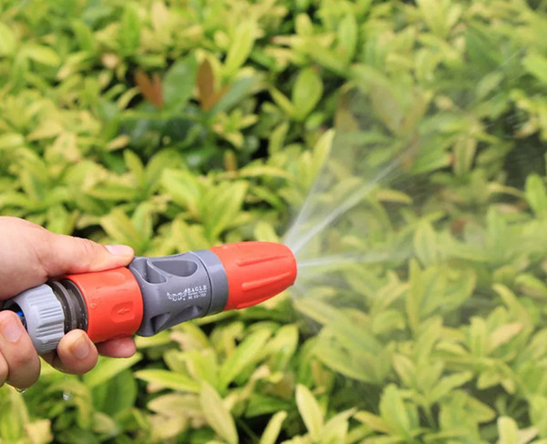 best selling Adjustable TPR Rubber Coating Spray Nozzle Garden Watering Car Washing Sprayer with Connectors