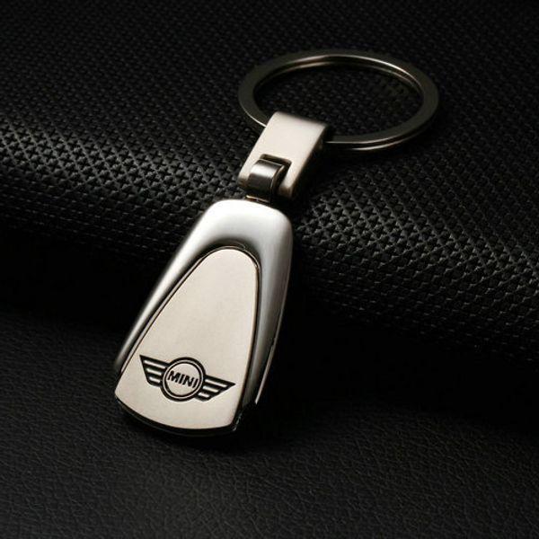 Fashion Metal Car Logo Key Ring Keyring Keychain Key Chain Car Styling Car Auto Key Chains Keyfob for Mini Fiat Lexus