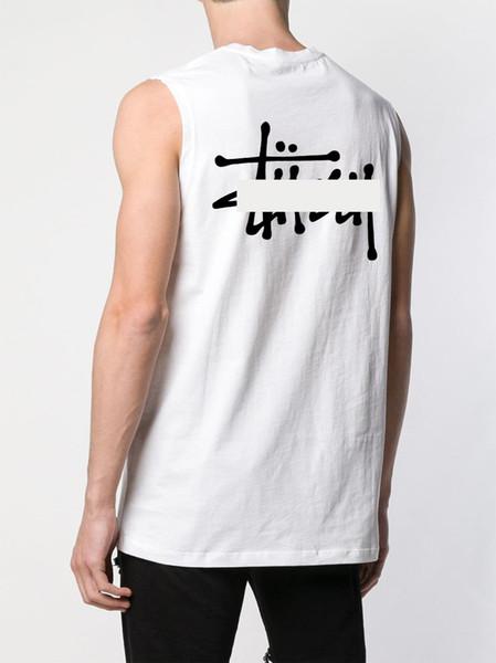Marca de moda camisetas sin mangas para hombre diseñador de alta calidad de lujo camiseta sin mangas letra clásica impresión de tendencia tendencia camisetas sin mangas Algodón con marcas