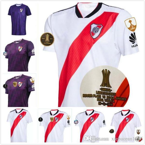 CAMPEON LIBERTADORES 2018 River Plate soccer jersey home away 18 19 PRATTO OUINTERO MARTINEZ Final Libertadores football shirts