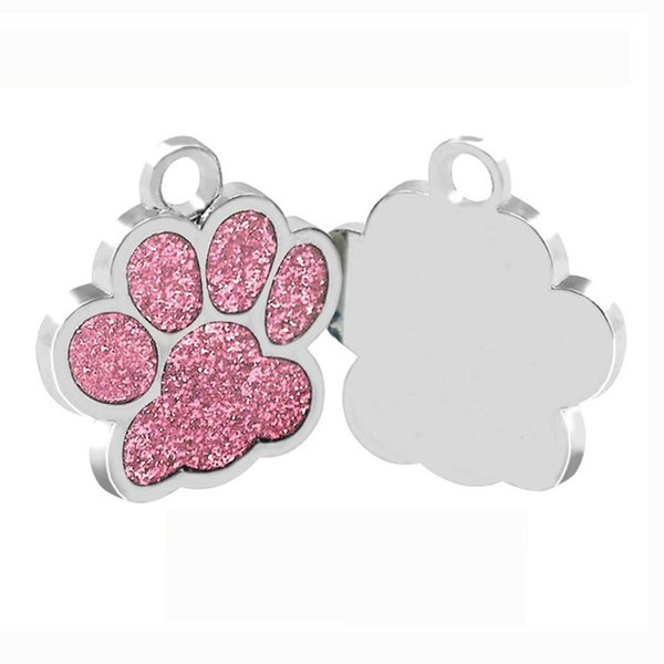 Drop shipping Shape Dog ID Tag Engraved Dog ID Name Tags Pet Collar Pendant Can Engrave Phone Number (Engrave by yourself)