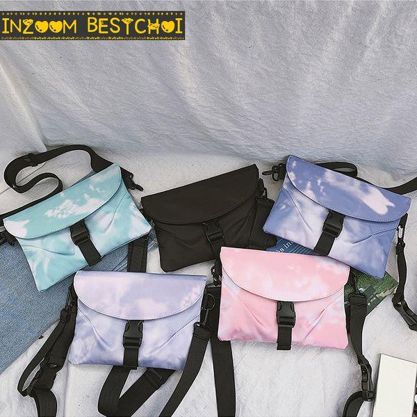 messenger bag women's new casual simple tide individual shoulder rucksack fashion korean student shoulder bags clutch