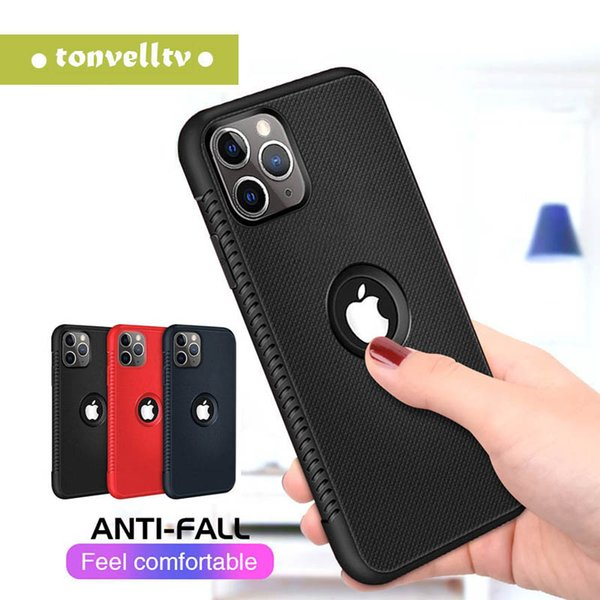 TPU soft rubber silicone cell mobile phone case for iPhone X XR XS MAX 6S 7 8 Plus slim cover for samsung S8 S9 plus note 9 shockproof