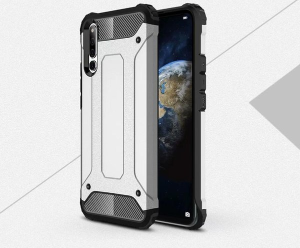 For Huawei Honor Magic 2 Case Quality Rugged Combo Hybrid Armor Bracket Impact Holster Protective Cover Case For Huawei Honor Magic 2
