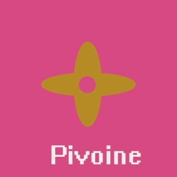 Monog 램 Pivoine 발레의 내부