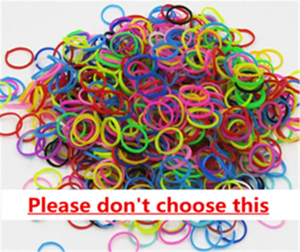 dont choose,rubber band only
