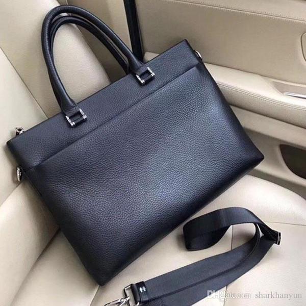 Новая модная мужская сумка дизайнерской верхней роскошной кожи высокого класса с атмосферой и благородным темпераментом мужская сумка на одно плечо NB: 7101-1 +2