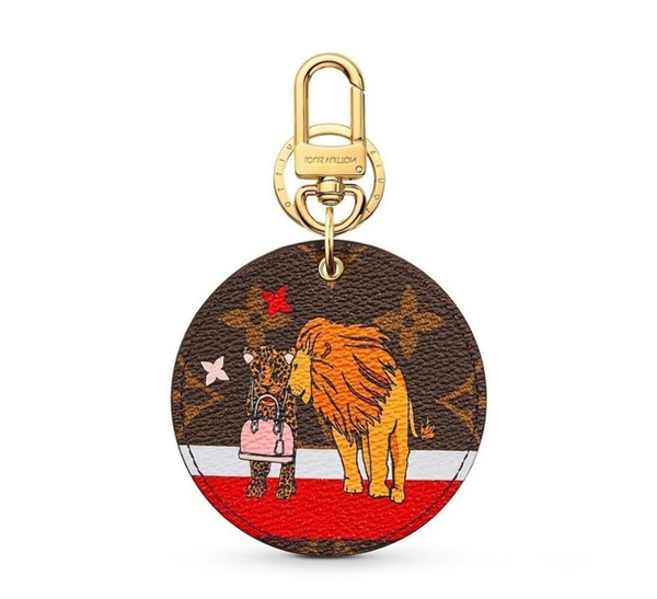 Bag M63750 Xmas Animals Animal New And Keychain Key Holders And More Leather Bracelets Chromatic Bag Charm And Key Holder Scarves Belts