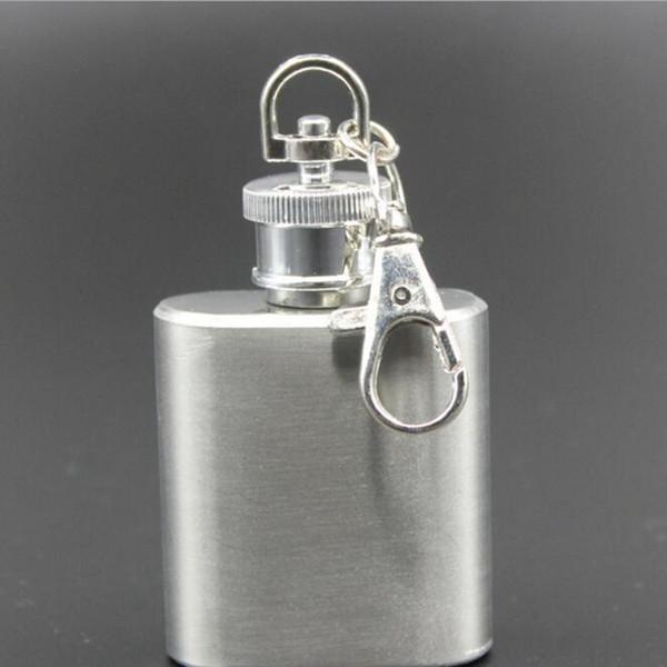 Frasco de aço inoxidável Cap Hip Capô Parafuso Tampão Ao Ar Livre chaleira Flask Portátil Repetível Sólida logotipo Personalizado de Alta qualidade 1 oz CFYZ67