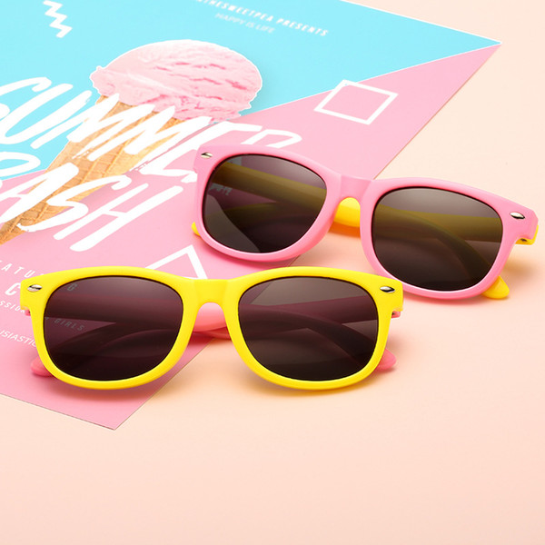 New Polarized Kids Sunglasses Boys Girls Baby Infant Fashion Sun Glasses UV400 Eyewear Child Shades Gafas Infantil