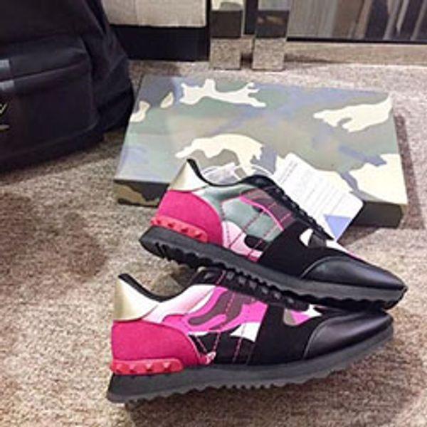Designer de sapatos homem sapatos casuais sapatos baixos Kanye West Moda enrugado couro de alta Principais Formadores de borracha vermelha fugir Arena Sapatos xkq01