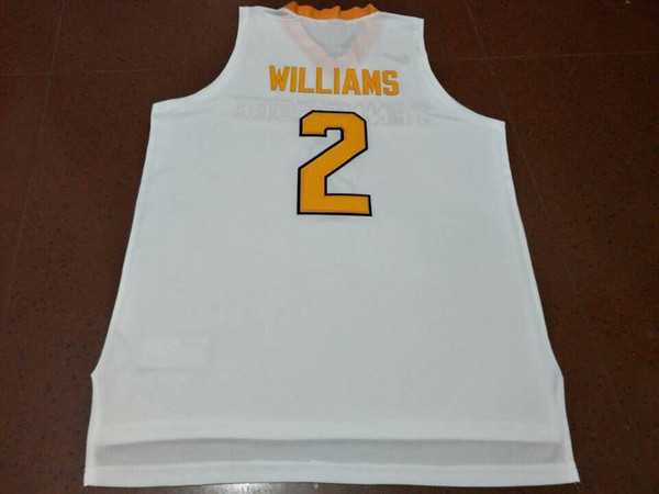 Vintage orange Tennessee Vols #2 Grant Williams College Real embroidery Basketball jersey Size S-4XL or custom any name or number jersey