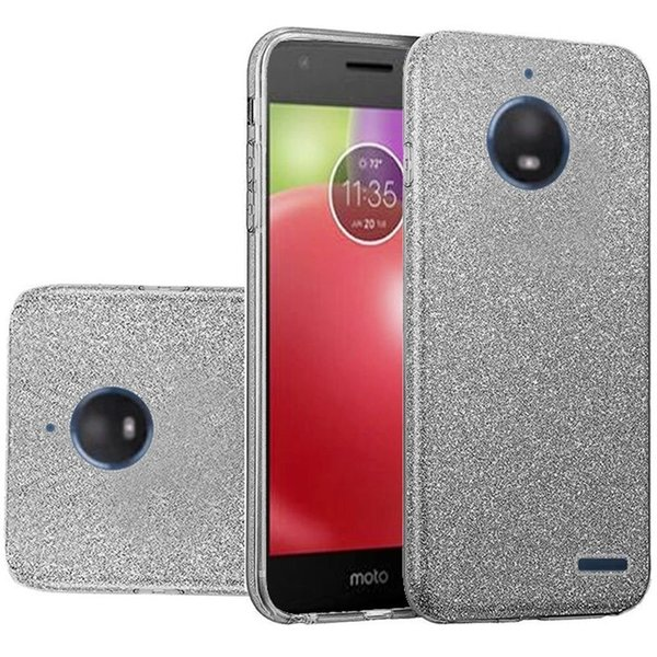 For Motorola G5S G6 G7 E4 E5 Plus Play Power Glitter Bling Three Layer Shockproof Soft TPU Outer Cover Hard PC Protective Phone Case Cover