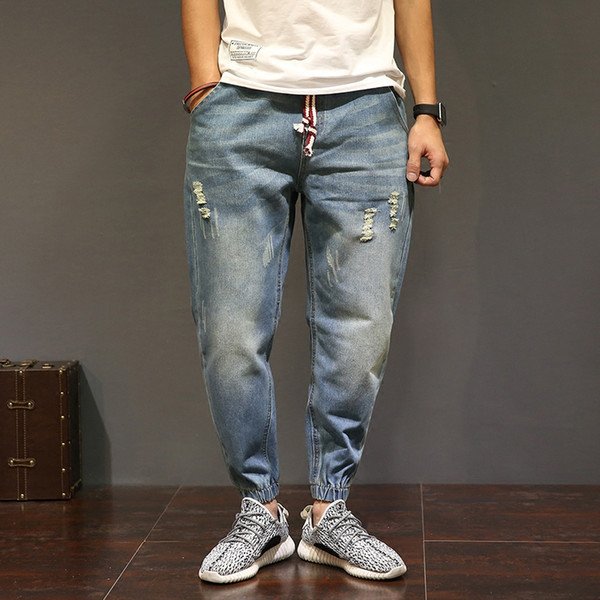 Jeans Men Plus Size Demin Jeans Slim Fashion For Mens