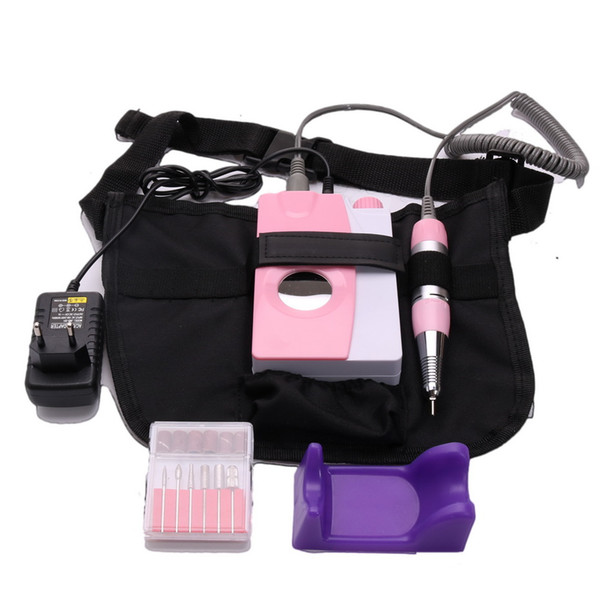 Portable Electric Nail Drill Machine Rechargeable Cordless Manicure Pedicure Set For Nail Equipment For Free Shipping