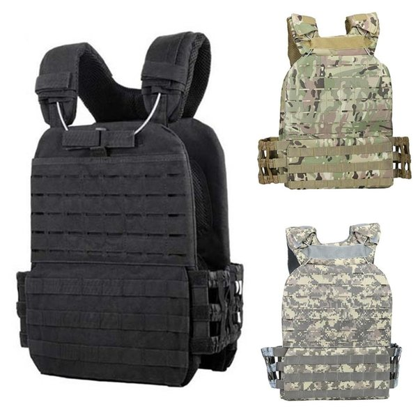 USMC Tactical Vest Molle Combat Assault Plate Carrier Tactical Vest 3 Colors CS Outdoor Clothing Hunting