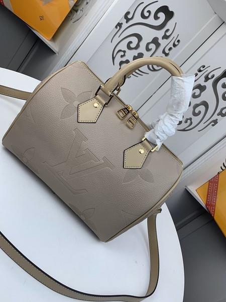 2020Classic fascia alta del cuoio di modo signore borsa a tracolla piccola taglia borsa donne quadrati della borsa 30 * 21 * 17 centimetri 41391