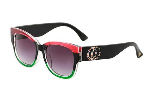 Home Moda Accessori Occhiali da sole Dettagli sul prodotto new fashion classic sunglasses attitude sunglasses gold frame square metal frame vin