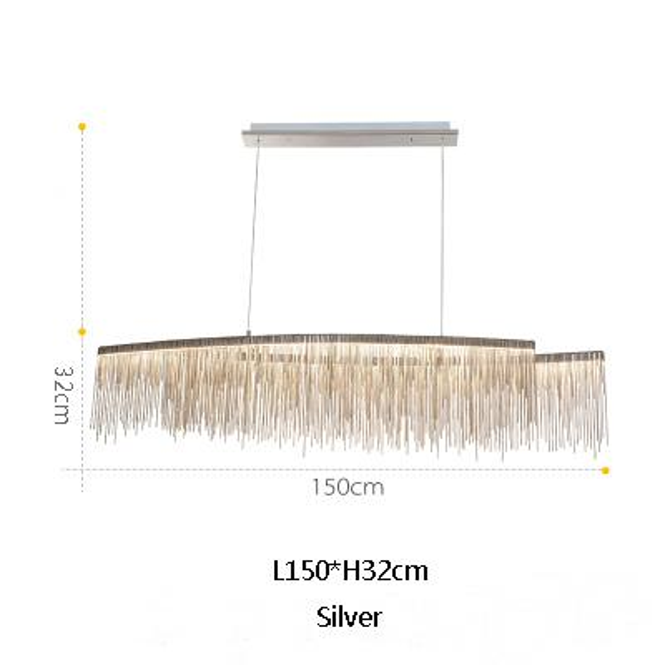 L150cm plata