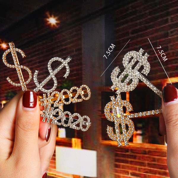 HAIR CLIPS CLIP PONYTAIL STUNNING GLITTERY PATTERN NEW WOMAN BARRETTE SLIDES