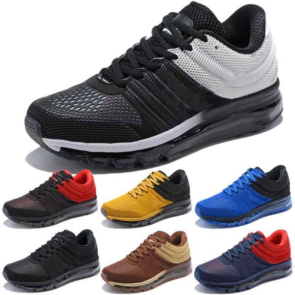 Designer men's shoes Nike vapormax women Moda M 2019 erkek koşu ayakkabı, yüksek kaliteli KPU erkek spor ayakkabı spor turuncu gri siyah açık spor ayakkabı boyutu 40-45