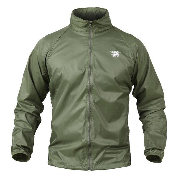 Summer Tactical Navy Seal Lightweight Camouflage Jacket Men Waterproof Thin Hood Raincoat Windbreaker Army Skin Jackets