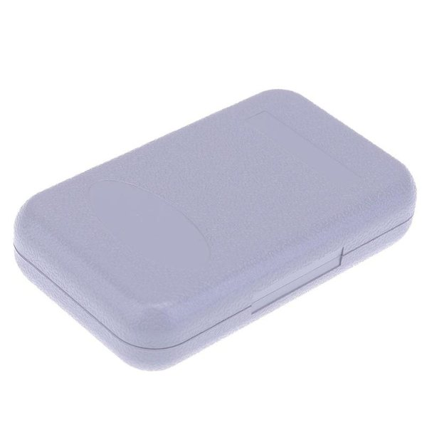TOPLY 4 Compartment Portable Fishing Lure Box Plastic Storage Case Fishing Tackle Lure Box Plastic Storage Case