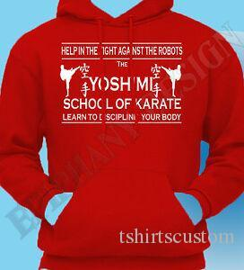The Flaming Lips Inspired Yoshimi Karate School Wayne Coyne Hoody Hoodie T Shirt