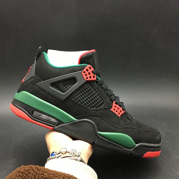 6f223211cf6 Air 4 NRG Do the Right Thing Black Pizzeria AQ3816-163 4s IV Kicks Men Basketball  Sports Shoes Sneakers High Quality With Original Box