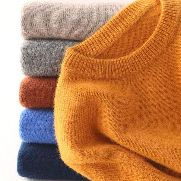 Кашемировый свитер мужчин свитер осень зима одежда HOMBRE халат тянуть Ьотте HIVER искусственных свитеры trui HEREN roupas мужчин свитер CJ191206
