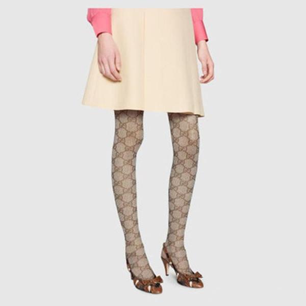 Marke Designer Lady Stockings Sexy Brief Logo Strumpfhosen Mode Lange Kniehohe Strumpfhosen Herbst Bein Warme Frauen Socken