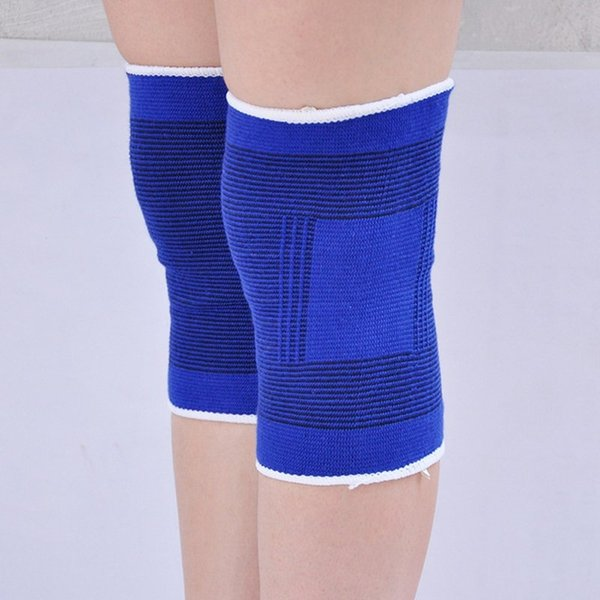 *2 x Elastic Neoprene Sport Safety Knee Brace Pads Volleyball Joints Muscles Support Strap Elbow Guard Protector Injury Sprain #220385