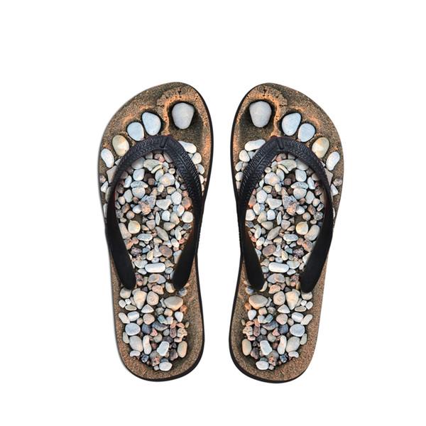 Customized Men's Summer Beach Flip Flops, Fashion Male Slipper Sandalias Masculina,Plus Size 39-44 Men Man Flat Beach Shoes