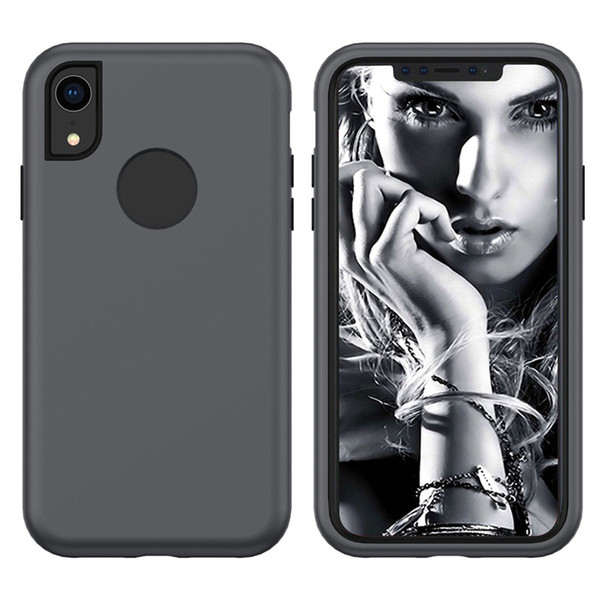 For Samsung Note9 S9Plus A6Plus A7 A9 J2 Prime/G530 J2Core J4 J6 J7 J8 3-In-1 PC Silicone Rugged Full Cover Anti-Shock Protective Phone Case
