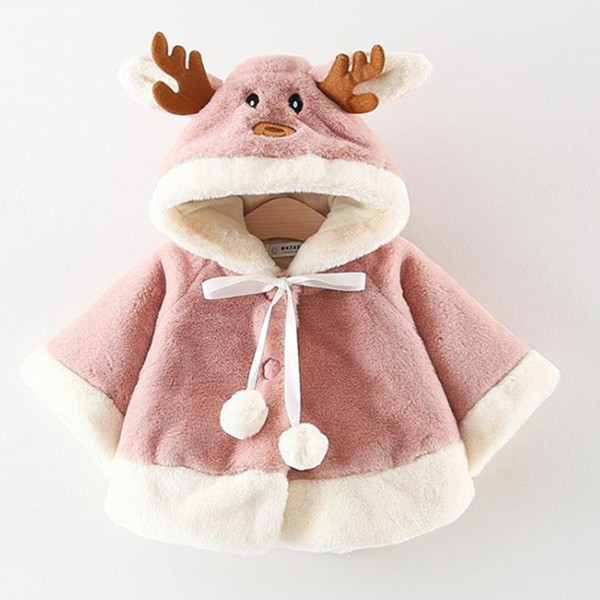 Animal Newborn Baby Coat Hooded Coat Baby Girl 6-24 Months Baby Jacket Newborn Warm Winter Clothes for Boys and Girls
