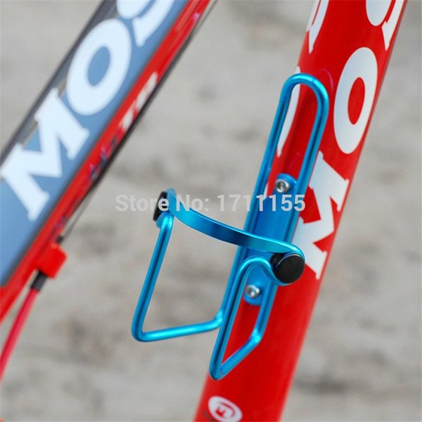 dbc7b911d6 Bicycle Water Bottle Holder MTB mountain road Bike drink Bottle Cages  aluminium bicycles bottle holders bikes