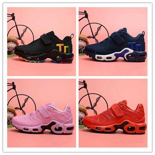 Kids Shoes Mercurial TN Boys Designer Running Shoes Toddler Youth Girls Casual Infant Trainer Best Classic Outdoor Toddler Sneake Size 28-35