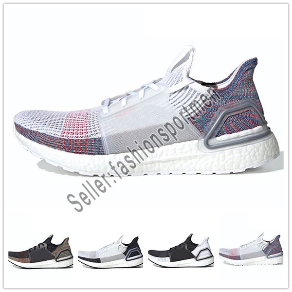 9624eccb91276 2019 Ultra Boost 19 Men Women Running Shoes Ultraboost 5.0 Laser Red Dark  Pixel Core Black