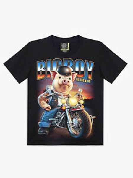 RoRock Kartal T gömlek BlaRock Erkekler Moda Dövme Büyük RoRock2 Punk Biker