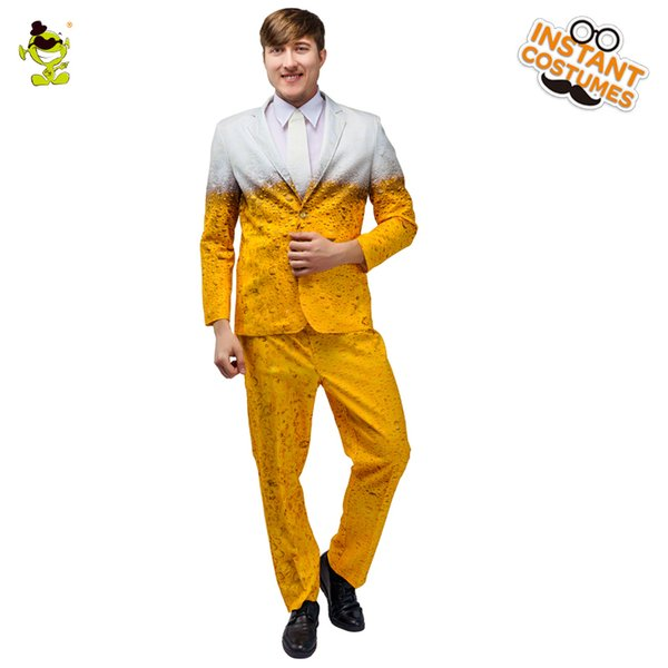 Hot Sale Masculino Oktoberfest Suit Costume Masquerade partido do carnaval Fancy Dress Oktoberfest Roupa Role Play Costumes partido da cerveja