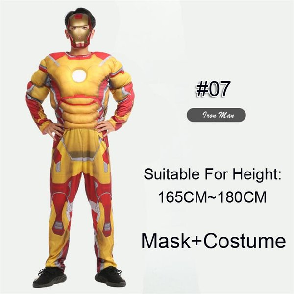 #07 Iron Man(Yellow)