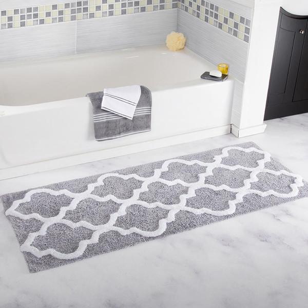 Carvapet Microfiber Moroccan Trellis Non Slip Soft Kitchen Mat Bath Rug  Doormat Runner Carpet Set 45\\X120\\ Shaw Carpet Tiles Commercial Grade  Carpet ...