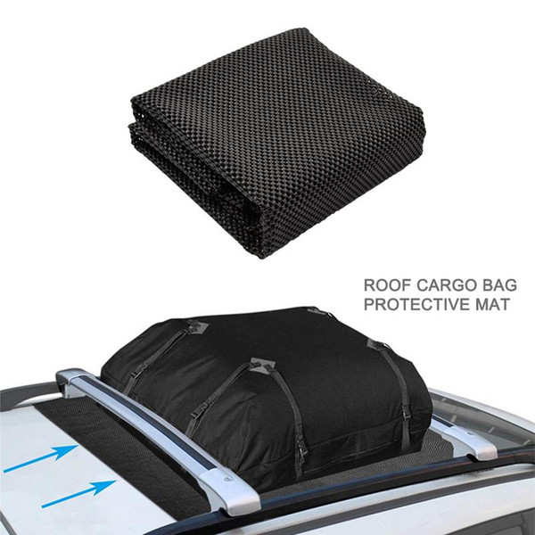top popular 100*90 CM 3.94*35.43 Inch Roof Cargo Bag Non-slip Protective Mat Automobiles Motorcycles Exterior Accessories Car Covers 2020