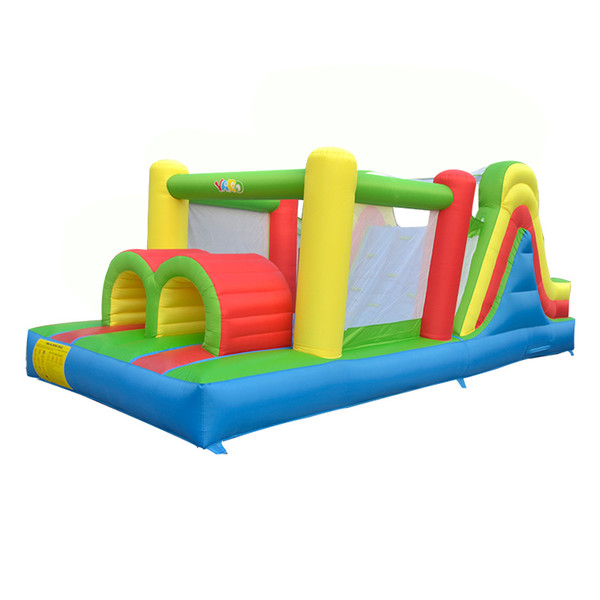 YARD Hot Selling Party Game Residential Inflatable Bouncy Castle Bounce House Obstacle Course Combo For Kids