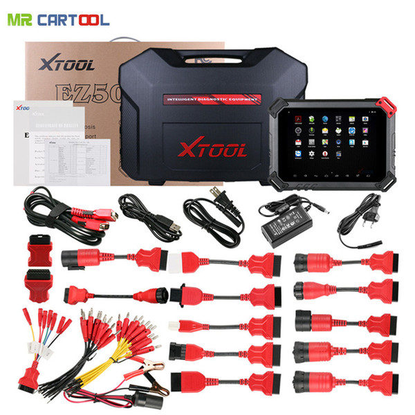 Xtool EZ500 HD Heavy Duty Diagnostic Tool Full System Auto Key Programmer Engine ABS ACM CDS COM SRS DPF WIFI Special Function