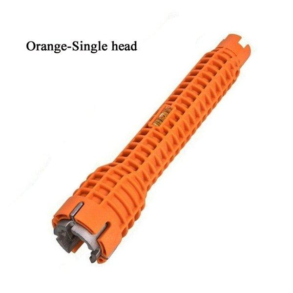 Singola testa-arancio