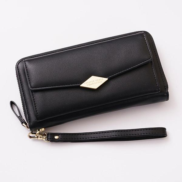 Organizer Women Wallet Large Capacity Multiple Card Slot Fashion Coin Phone Bag Money Purse Long Holder