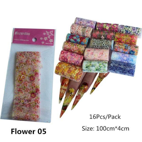 Flower05 -16Pcs