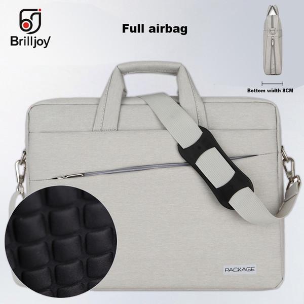 Brilljoy High quality briefcase Messenger Bag Laptop Handbag for 13 14 15 Inch Computer Bussiness Travel Men and Women Notebook #511199