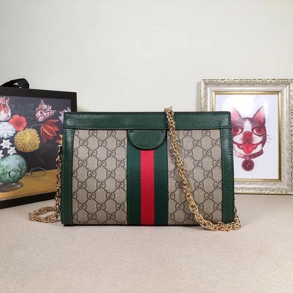 women reusable handbags Bag 2019 New Pattern Portable Small Square Package Messenger Badge Chain Packet crossbody purses sling 26*17*8CM0002